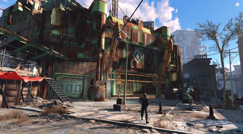 Illustration for article titled A Post-Nuke Fenway Park Is In Fallout 4