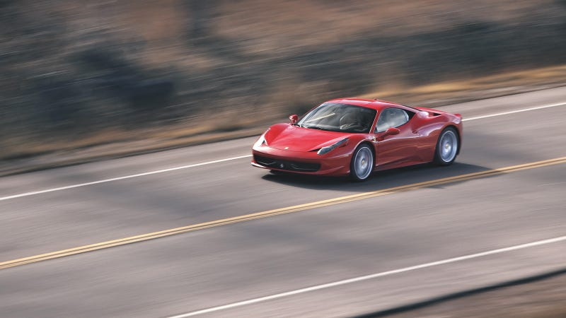 Illustration for article titled Your ridiculously cool Ferrari 458 Italia wallpaper is here