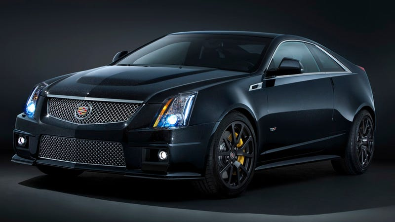 Illustration for article titled Cadillac joins blaxploitation trend with Black Diamond CTS-V