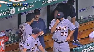 Illustration for article titled This Evening: Who Farted In The Tigers' Dugout?