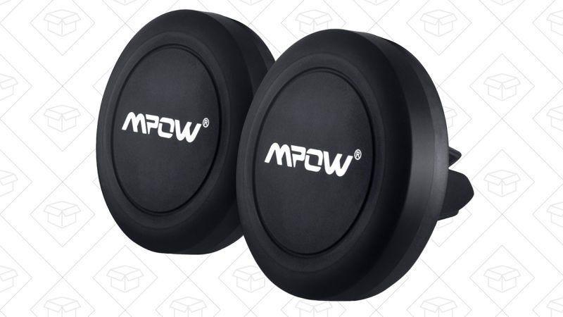 Pack de 2 soportes Mpow para los conductos de ventilación, $8 con el código ZYZPEJUQ