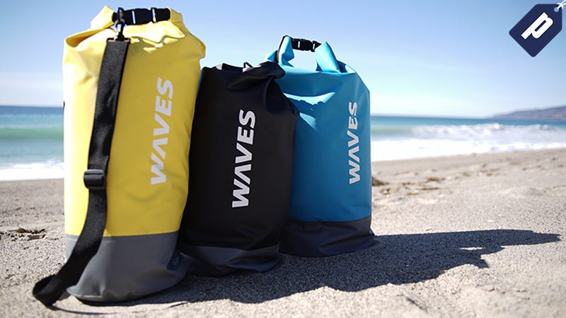 Illustration for article titled Protect Your Gear with the Infinite Dry Bag from WavesGear (40% Off)