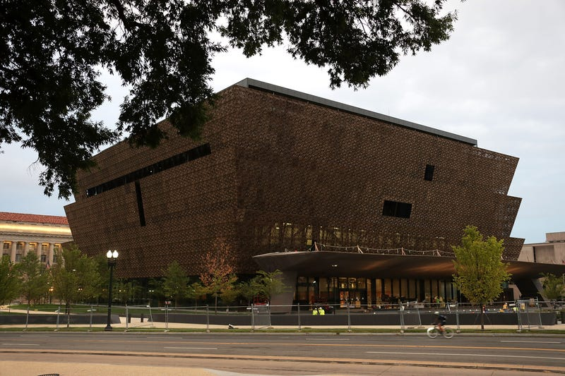 The soon-to-be-opened Smithsonian National Museum of African American History and Culture in Washington, D.C., is seen Sept. 1, 2016.Alex Wong/Getty Images