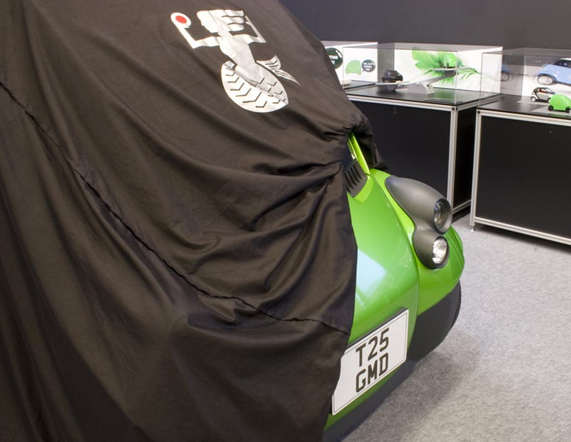 Illustration for article titled Gordon Murray T.25 City Car Officially Teased In Franchise Announcement