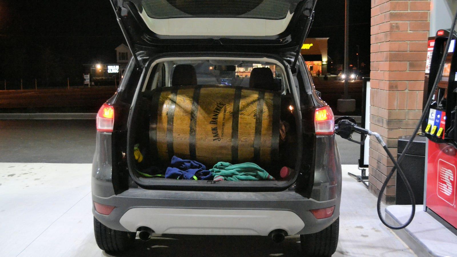 how big is a ford escape 39 s trunk. Black Bedroom Furniture Sets. Home Design Ideas