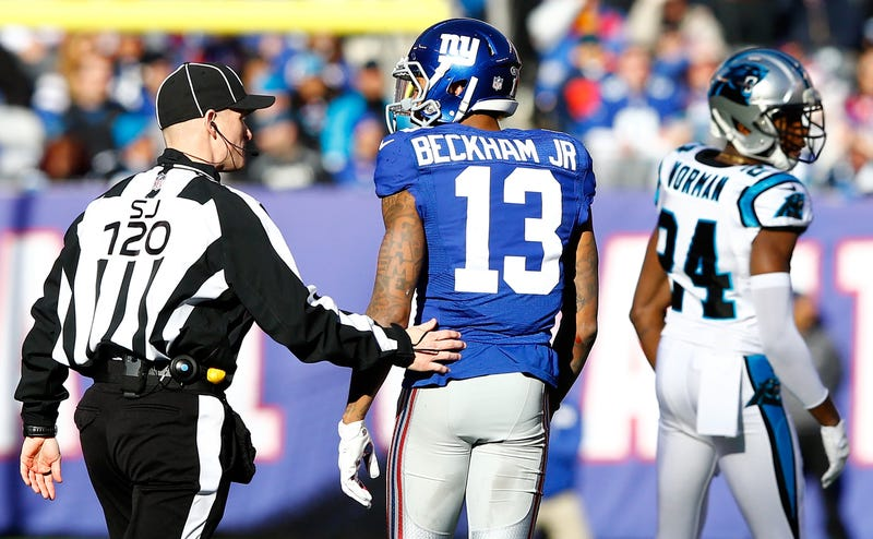 "Illustration for article titled Dean Blandino Told Official During Giants-Panthers: ""You Can Eject Players"""