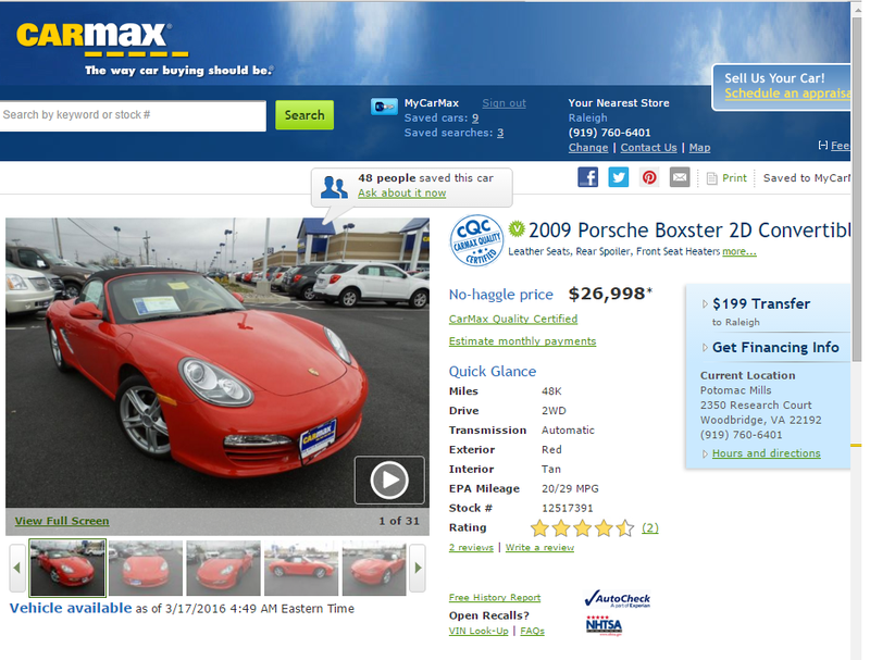 First image I saw of my Boxster