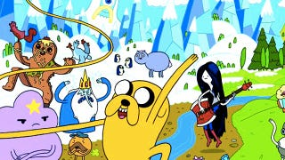 Illustration for article titled This Wednesday, Adventure Time collides with Dinosaur Comics!