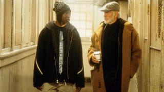 Rob Brown as Jamal Wallace and Sean Connery as William Forrester in a scene from Finding ForresterIMDb