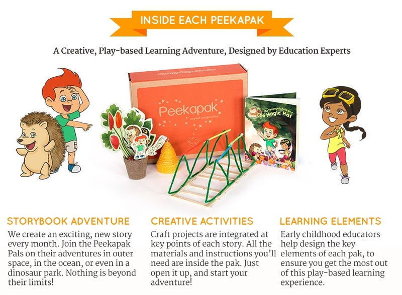 Illustration for article titled Monthly Play-Based Learning Subscription for Kids