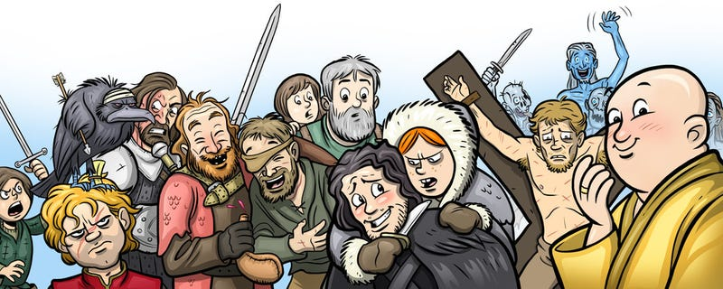 Be Sure To Read These Comics After Each Episode Of Game Of Thrones