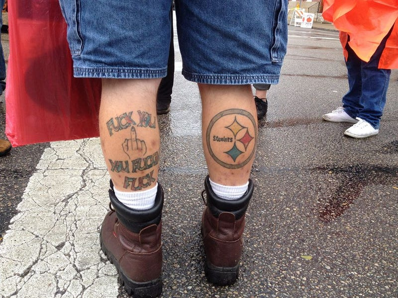 Steelers tattoo somehow not man 39 s most obnoxious for Tattoo places in pittsburgh
