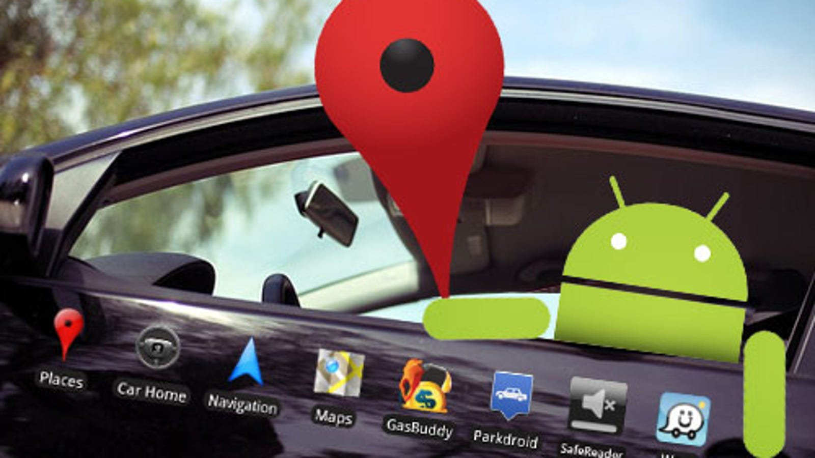 the best android apps for your car. Black Bedroom Furniture Sets. Home Design Ideas