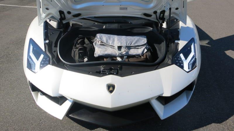 should you take a 700 horsepower lamborghini aventador on a road trip. Black Bedroom Furniture Sets. Home Design Ideas