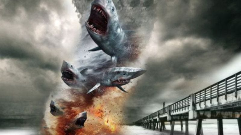 Illustration for article titled Sharknado 3 to rain sharks on Washington, D.C.