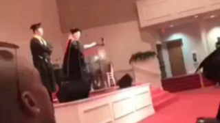 Nancy Gordeuk, the principal of TNT Academy in Stone Mountain, Ga., who made racially insensitive comments during a graduation ceremony May 8, 2015, has been fired.WSB-TV screenshot