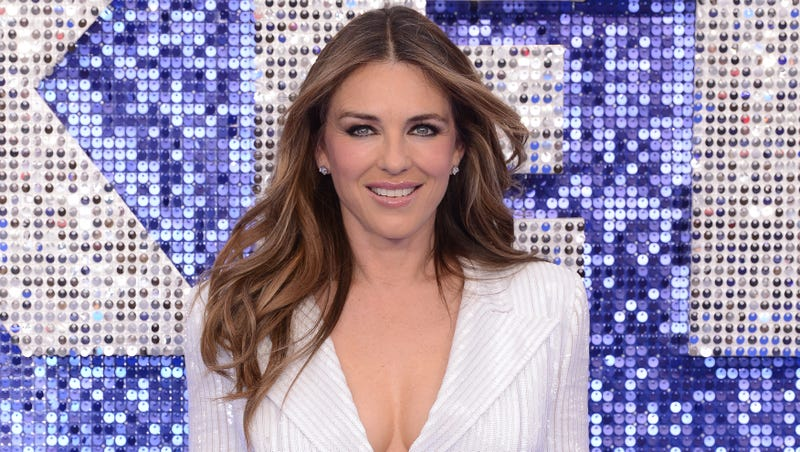 Elizabeth Hurley at the UK Rocketman premiere.