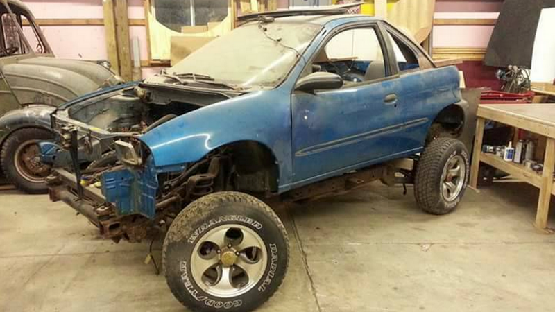 This Geo Metro On A Wrangler Frame Is A Jeeper S Worst Nightmare