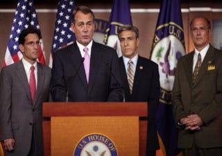 Speaker of the House Rep. John Boehner (Getty)