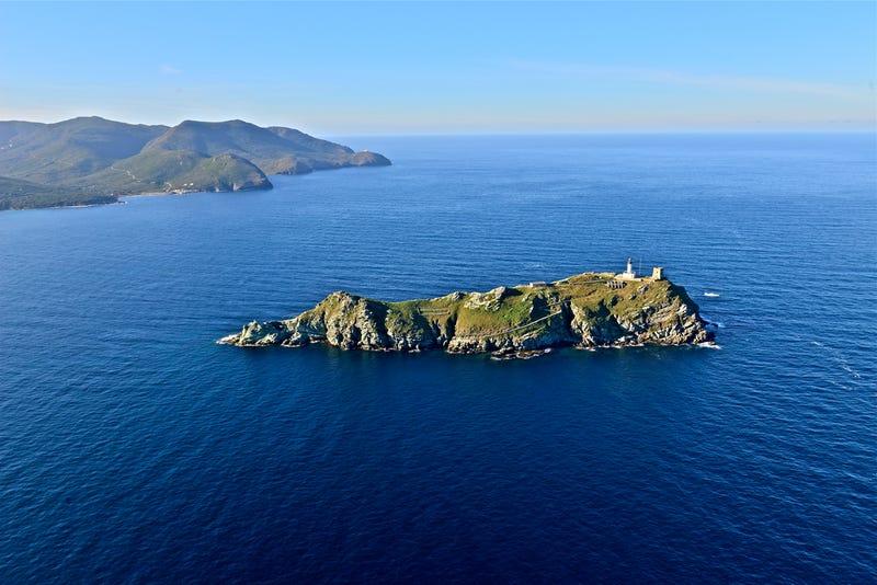 Giraglia island. Photo Courtesy Michel-Jean Dealugerre.