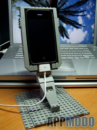 Illustration for article titled Inevitably, Yet Another Lego iPhone Dock Now Exists