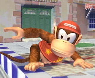 Illustration for article titled Diddy Kong's Eys Look Like An Upside Down XBox Controller