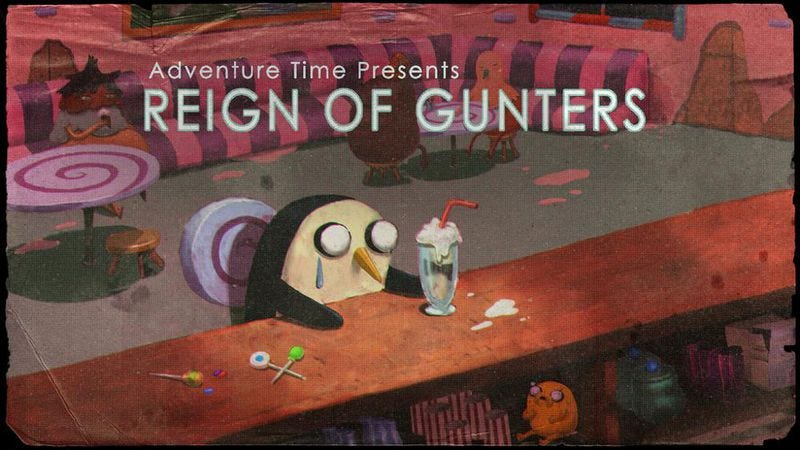 """Illustration for article titled Adventure Time: """"Reign Of Gunthers"""""""