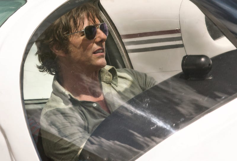 Tom Cruise in American Made, which maybe you saw this weekend (Photo: Universal Studios)