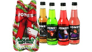 Illustration for article titled Jones Soda Answers that Burning Holiday Question: What Do Sugar Plums Taste Like?