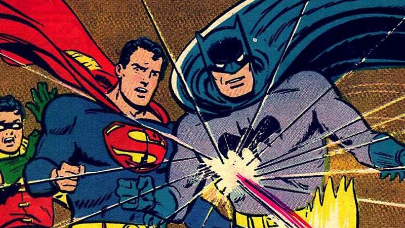 Batman and Superman are best friends—so why does everybody want to
