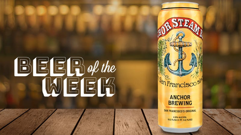 Illustration for article titled Beer Of The Week: Why did it take so long to put Anchor Steam in cans?