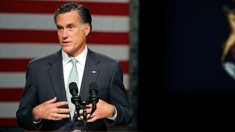 Illustration for article titled Romney Comes Clean, Admits He Made $32 Trillion In 2006