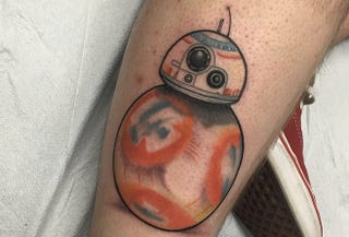 Illustration for article titled Someone Already Got A Star Wars: Episode VII Tattoo