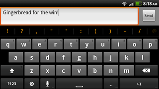 Illustration for article titled Use the New Gingerbread Keyboard on Your Rooted 2.2 Android Phone