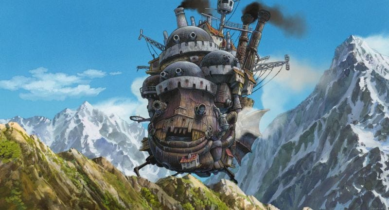 Illustration for article titled Start or Expand Your Studio Ghibli Blu-ray Collection For $13 Each