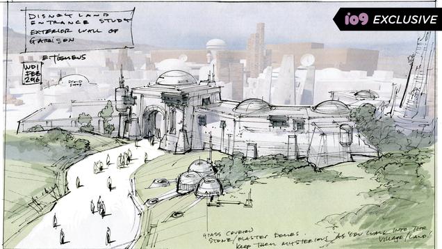 <div></noscript>Star Wars Art Book Reveals Behind-the-Scenes Galaxy's Edge Details</div>