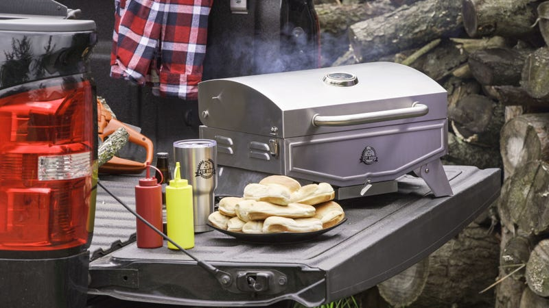 Pit Boss Single-Burner Portable Gas Grill | $50 | Walmart