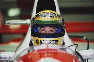 Illustration for article titled Here Are 6 Awesome Ayrton Senna Clips To Watch On His Birthday