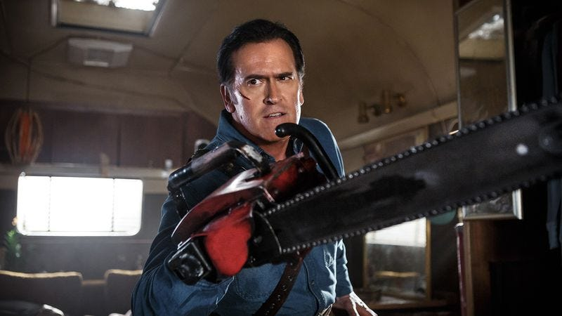 Illustration for article titled Hail to the king, Ash Vs. Evil Dead roars to a groovy start