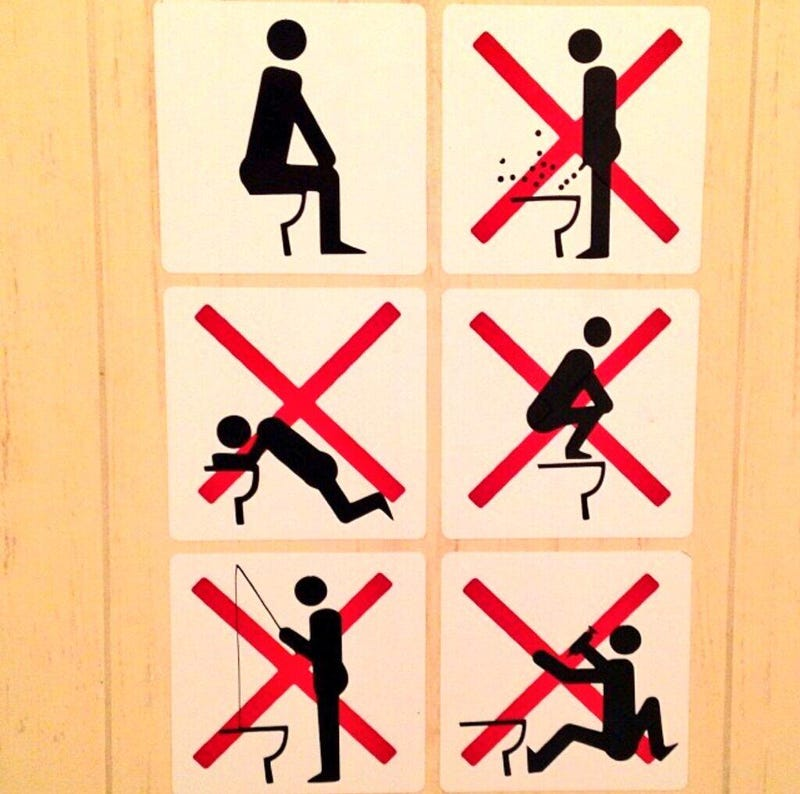 Illustration for article titled You're Not Going To Be Able To Have Any Fun In The Sochi Bathrooms