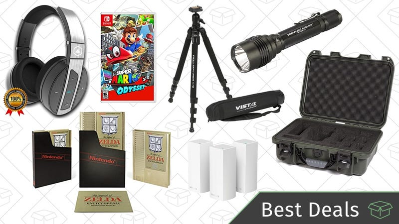 Illustration for article titled Thursday's Best Deals: Camera Accessories Gold Box, Bluetooth Headphones, LED Flashlights, and More