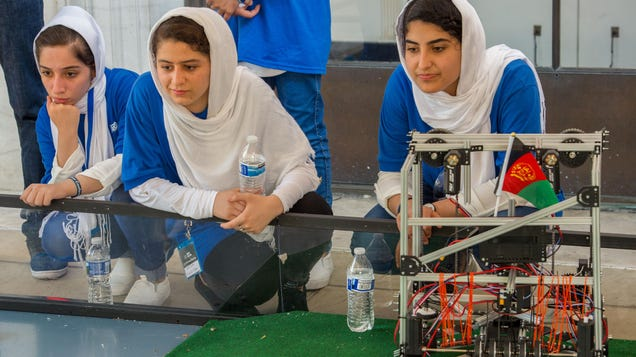 Afghanistan s All-Girls Robotics Team Desperate to Escape Country as Taliban Takes Control: Report