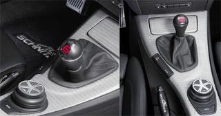 Illustration for article titled AC Schnitzer Digital Shift Knob Is Happy To See You