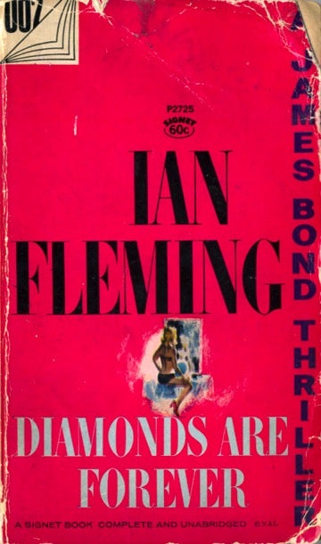 Illustration for article titled Box Of Paperbacks Book Club: Diamonds Are Forever by Ian Fleming (1956)