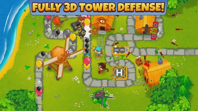 Get the Amazing  Bloons TD 6  for Free on iOS and Android