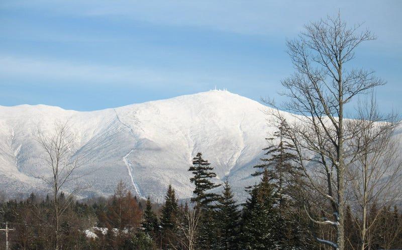 Monte Washington. Wikimedia Commons