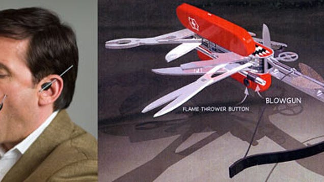 Get Smart S Swiss Army Knife Has Working Crossbow