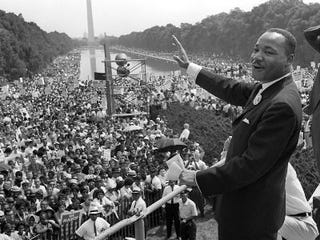 Illustration for article titled Would MLK Want a Memorial or a Revolution?