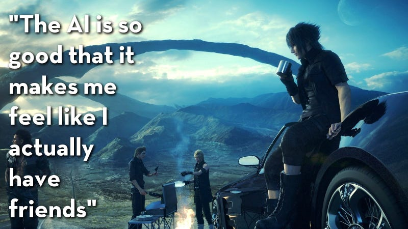 Illustration for article titled Final Fantasy XV, As Told By Steam Reviews