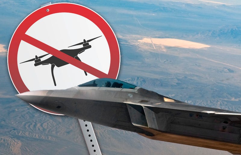 Illustration for article titled Area 51 Bans Drones... Your Drones, At Least